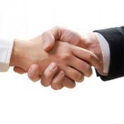 Hand geven