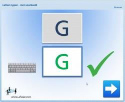 Lezen & Typen: Letters (met voorbeeld)