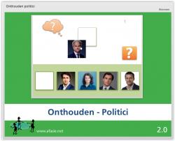 Onthouden: Politici