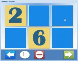 Memory - 6 cijfers (2.0)