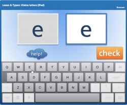 Lezen & Typen: Kleine letters (iPad)
